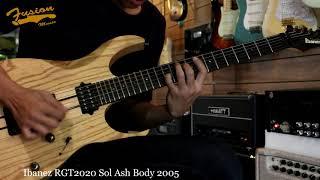 รีวิว Ibanez RGT2020 Sol Ash Body 2005