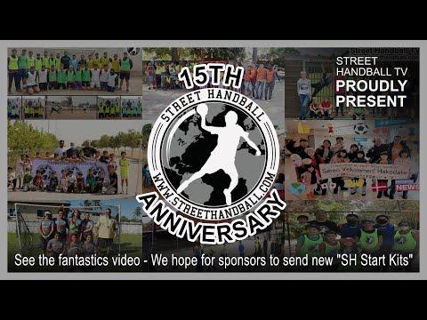 """15th Anniversary Video"" Street Handball International streethandball.com"