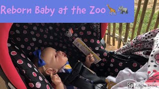 Reborn Baby Saskia Goes To The Zoo! Reborn Doll Outing Video! 🦒🐘