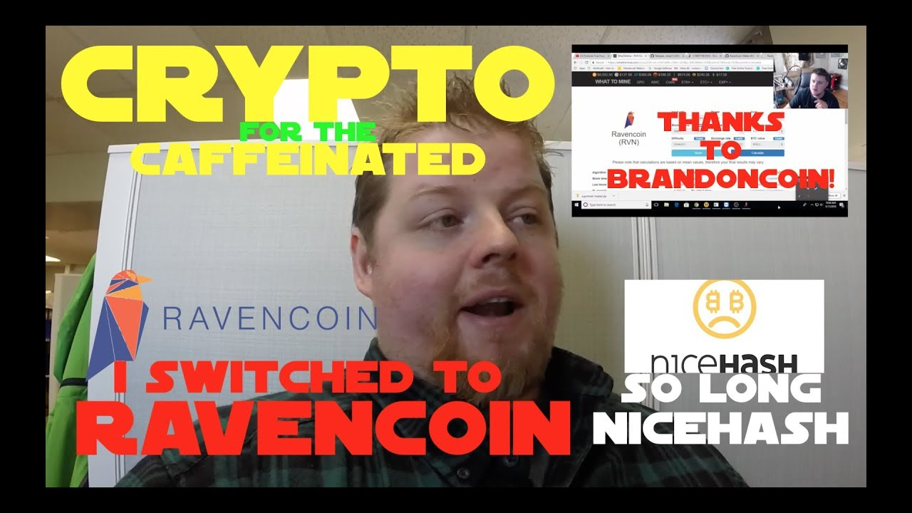 I Switched To Ravencoin So Long Nicehash Youtube Calculate ravencoin (rvn) mining profitability in realtime based on hashrate, power consumption and electricity cost. youtube