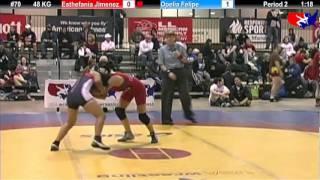 2011 U.S. Open FRI WM 48 KG: Esthefania Jimenez vs. Opelia Felipe Cons. Round 2