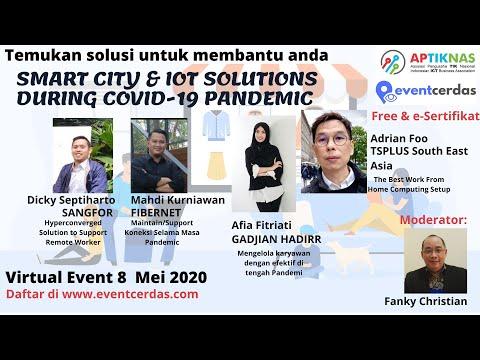 TSPLUS hadir dalam APTIKNAS SMART CITY AND IOT SOLUTIONS DURING COVID-19 PANDEMIC 8 Mei 2020