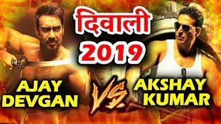 Diwali 2019 Mega Clash - Ajay Devgn's Taanaji To CLASH With Akshay's Housefull 4