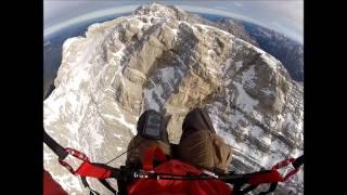 Gleitschirmfliegen Zugspitze