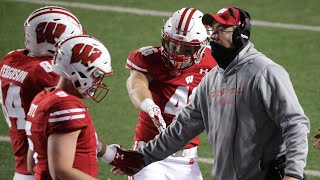 As college football fans watched wisconsin dismantle illinois in the big ten opener last week, they likely saw uw coach paul chryst wearing a facial covering...