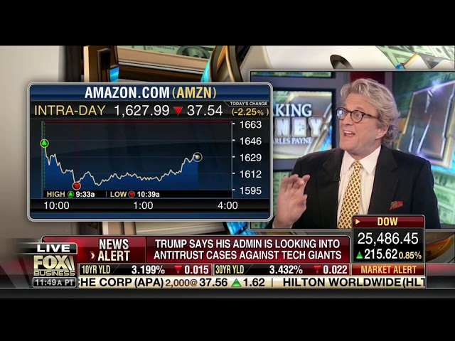 Paul Dietrich - Fox Business News - Making Money with Charles Payne - 11-5-2018