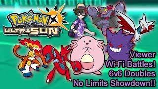 Viewer Wi-Fi Battles! Pokémon Ultra Sun Live Stream!