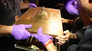 Time capsule from 1914 opened in the US