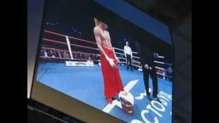 Шоу-выход Беринчика во Дворце спорта
