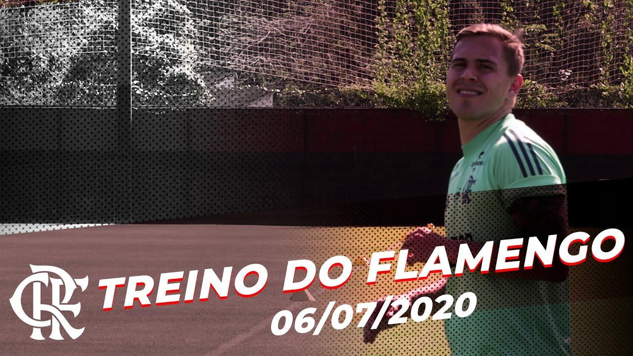 Treino do Flamengo - 06/07/2020