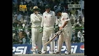 Sachin Tendulkar...Shane Warne....1998...the unseen battle...magnificent cricket....