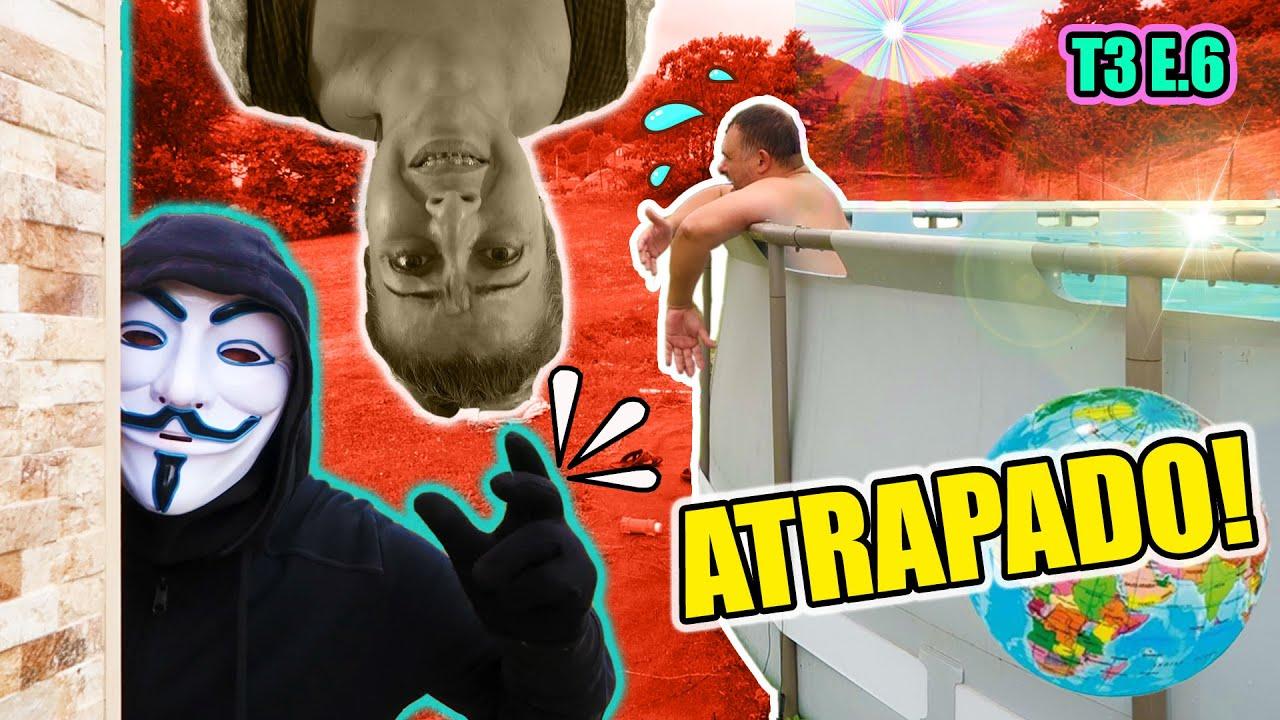 El HACKER MISTERIOSO atrapa a David en la piscina | El hombre misterioso nos la juega en casa !!
