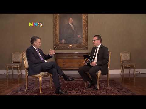 NSN No-ticias con Juan Manuel Santos. 04 de septiembre de 2017