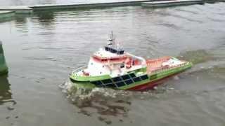 Model RC tug FAIRMOUNT SUMMIT billing boats