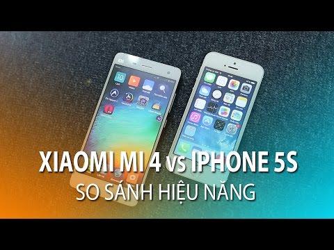 Xiaomi Mi4 Vs Iphone 5s Xiaomi Mi4 vs IPhone 5...