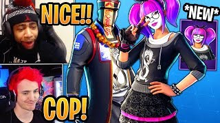 Streamers React to *NEW* Lące and Paradox Skins! - Fortnite Best and Funny Moments