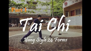 Learn TaiChi At Home  | Yang Style TaiChi 24 Steps For Beginners