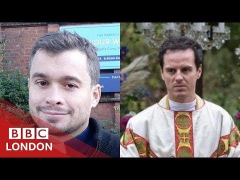 The 'Hot Priest' doing 60 second sermons - BBC London