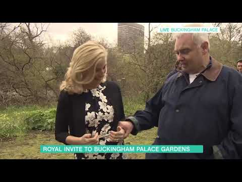 Eamonn Holmes and the Countess of Wessex Plant a Tree | This Morning
