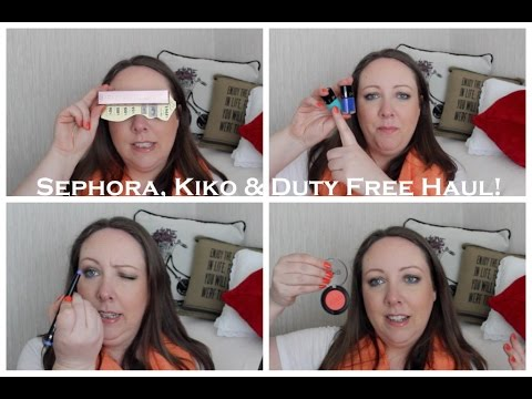 Sephora, Kiko & Duty Free Haul! / Lovely Girlie Bits