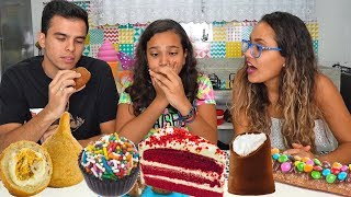 TENTE NÃO COMER! ft. Kids Fun - Juliana Baltar
