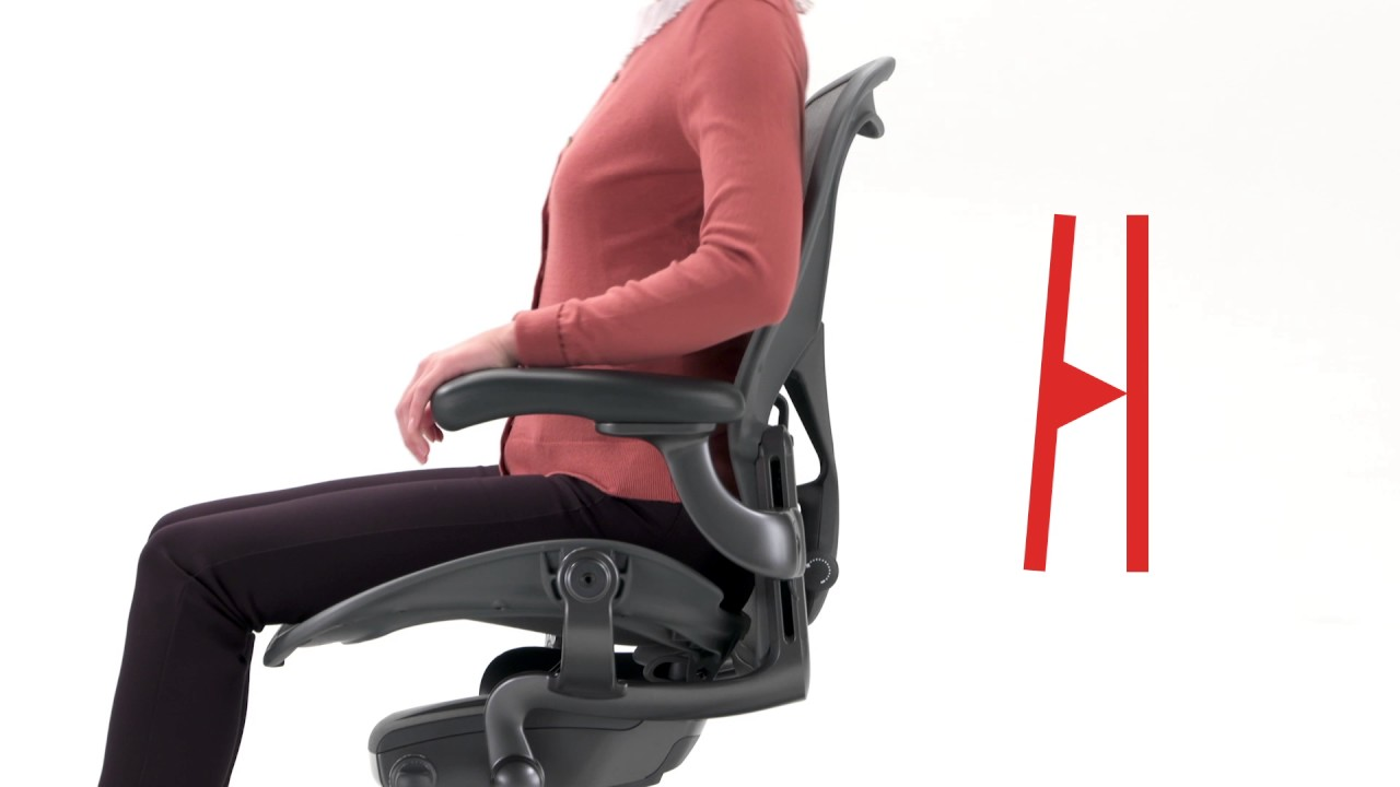 Como usar la silla herman miller aeron renovada youtube for Silla herman miller