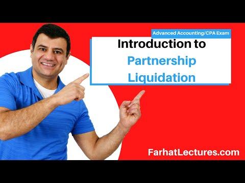 Introduction To Partnership Liquidation | Advanced Accounting | CPA Exam FAR
