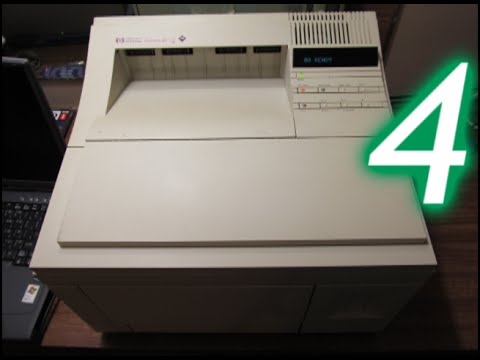 HP LaserJet 4/4M Printer, Part 4: PCL vs. PostScript
