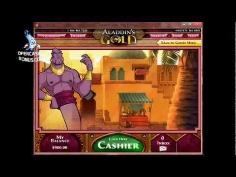 Aladdins gold no deposit