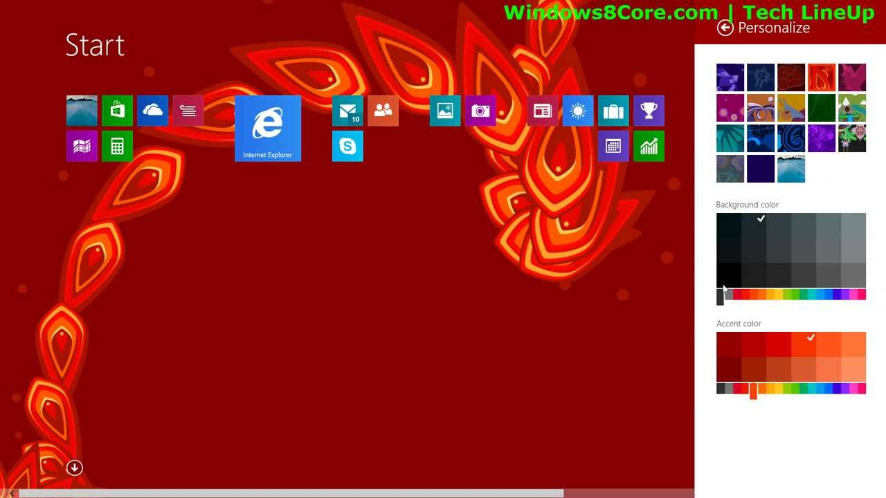 Hands On New Animated Start Screen Background Of Windows