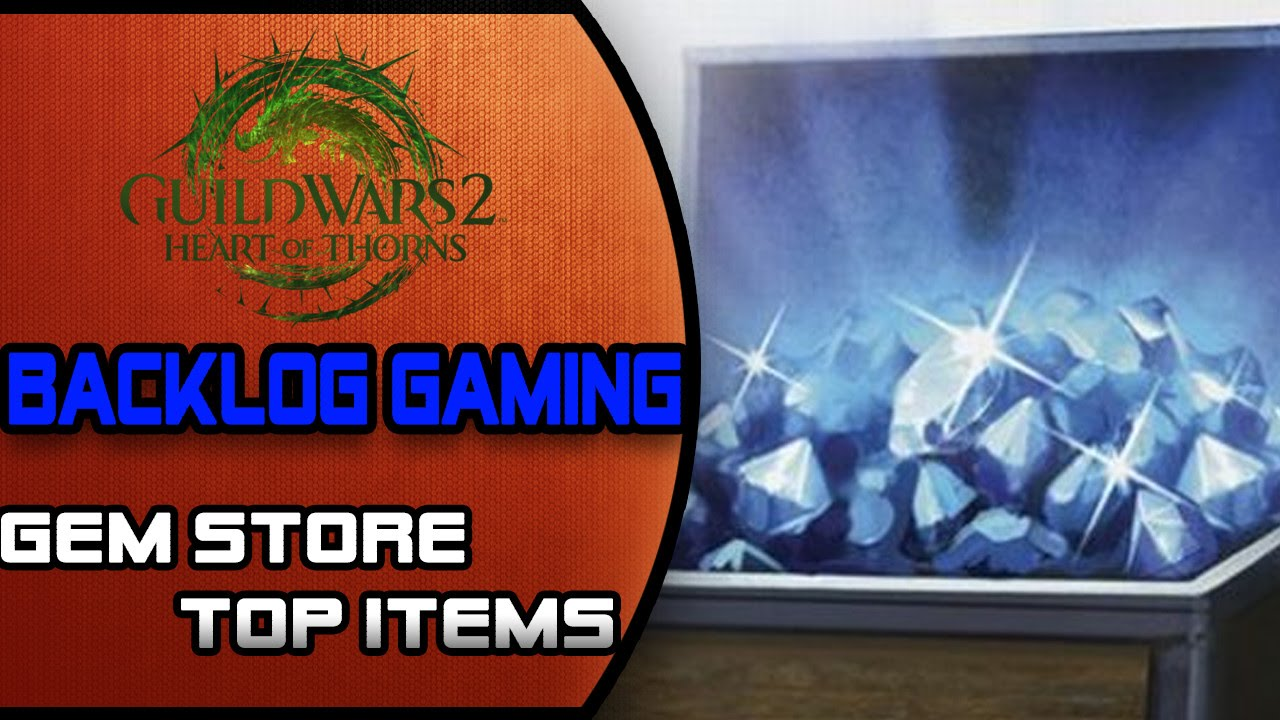Guild Wars 2: Gem Store Must Have Items!
