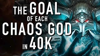 40 Facts and Lore on the Goal of the Chaos Gods in Warhammer 40K End Times, Great Game, Long War