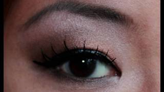 everyday neutral eyes makeup tutorial with urban decay naked palette