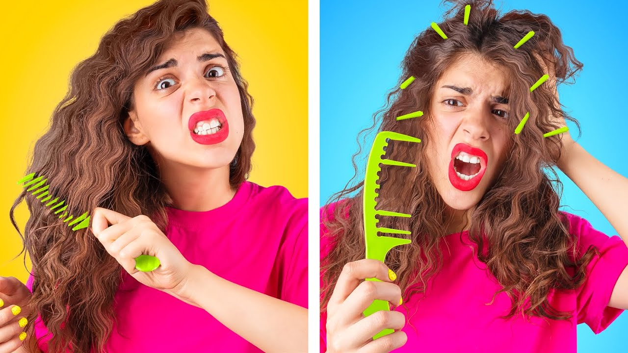 Download Long, Short and Curly Hair Problems! Funny Relatable Situations