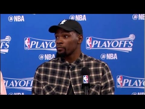 Kevin Durant On Yelling At Steph Curry. HoopJab NBA Playoffs.