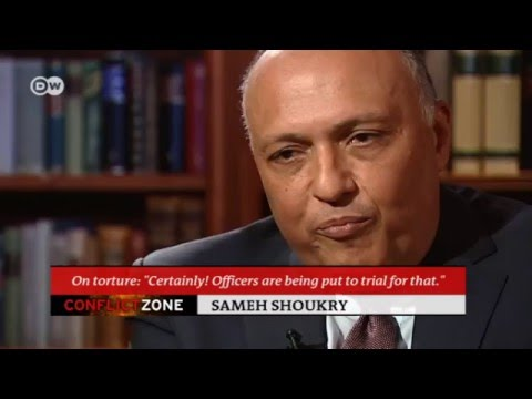 """Egypt's FM on terror: """"We are the victims"""" 