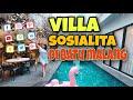 REVIEW VILLA GAIA LODGE ( VILLA TER HITSS DI KOTA BATU MALANG )😍😍 #villabatumalang #villamurahbatu