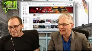 Mein Kanal, Propaganda und Hass von links – im Gespräch beim Digitalen Chronist