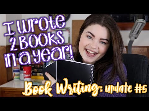 I FINISHED WRITING MY BOOKS (ft. A Book Haul!) | Book Writing #5