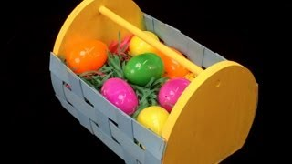 Make A Wood Easter Basket