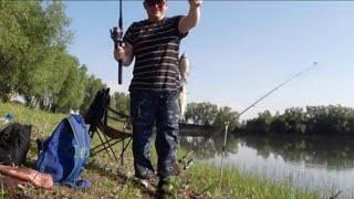 Рыбалка/Ловля карася на донку и закидушку/червь/опарыш/пенопласт в протеиновом тесте/