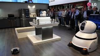 IFA 2017: LG HubRobot, Flughafen-Guide-Roboter und viele mehr