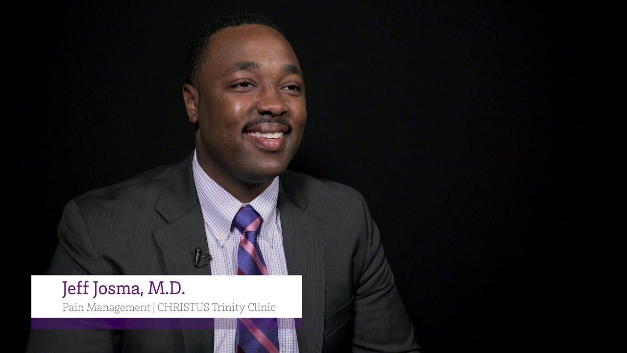 Meet Dr Jeff Josma