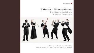 Wind Quintet, Op. 10: I. Preludio: Andante ma vivace