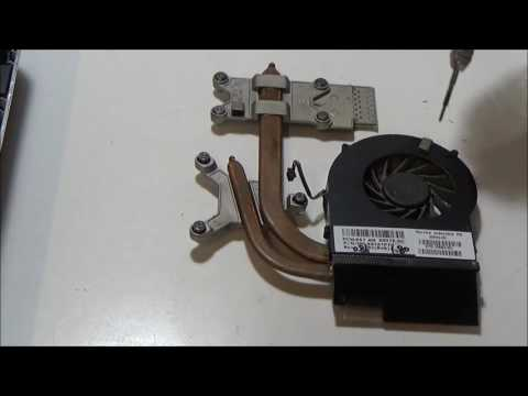 Overheating HP Pavilion DV6 Intel i7 - disassembly and cleaning fan