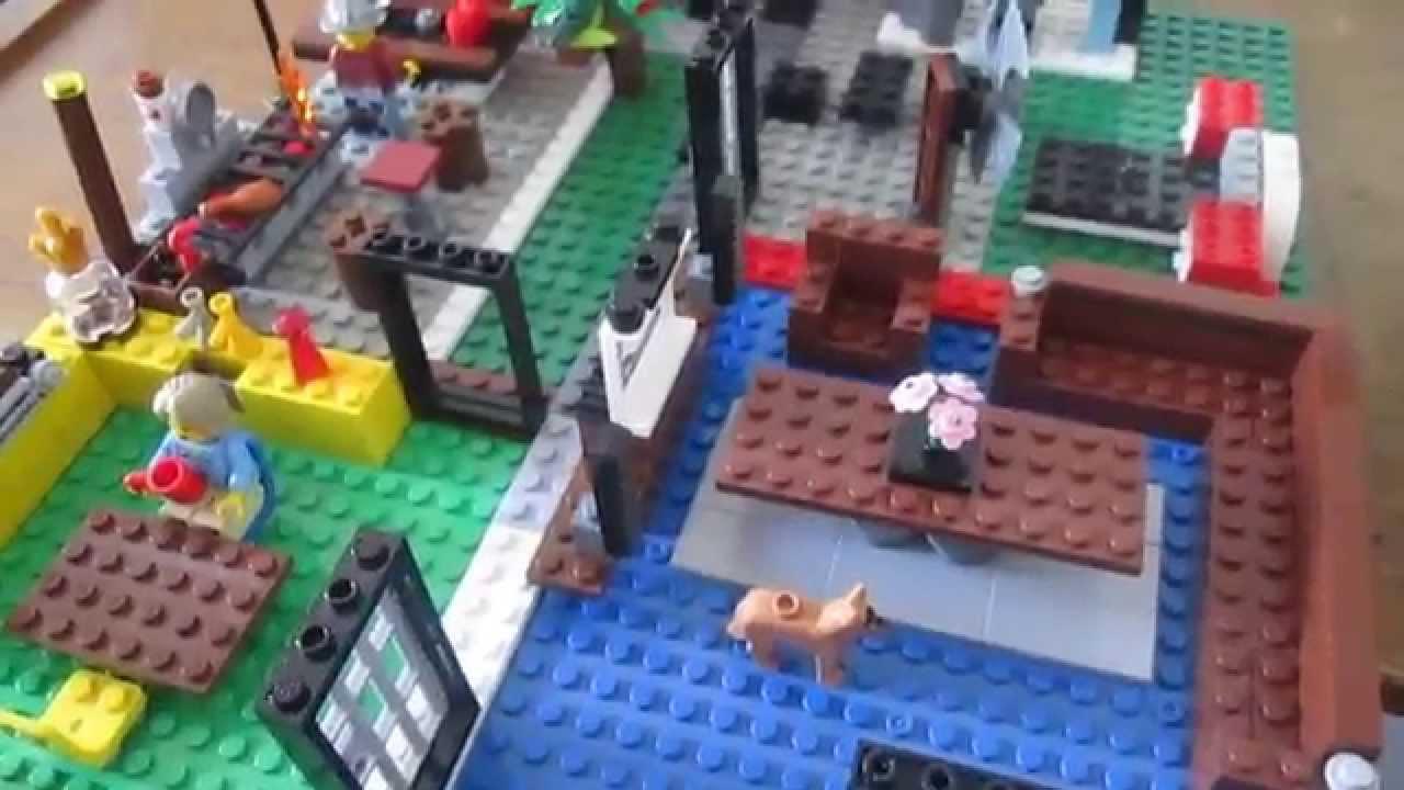 Como hacer una casa de lego youtube - Cosas para hacer en casa ...