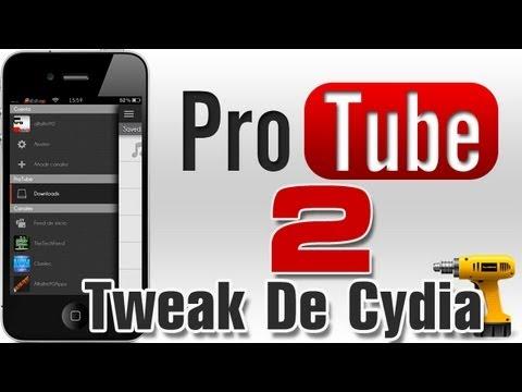 ProTube 2 |Super Funciones Para Tu App De Youtube Con Este Tweak De Cydia