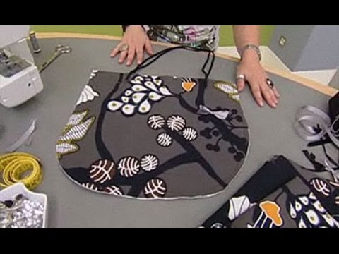 Como hacer bolsos de tela patrones youtube - Como hacer cuadros de tela ...