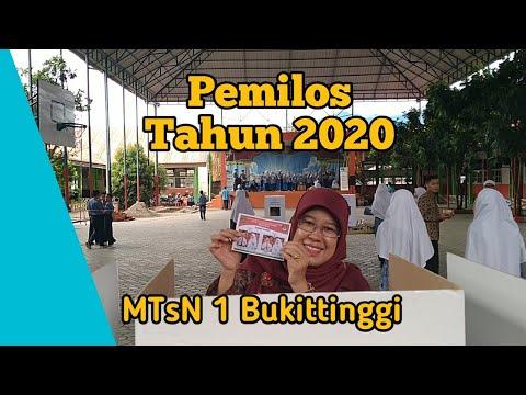 Pemilihan Ketua OSIM MTsN 1 Bukittinggi Tahun 2020