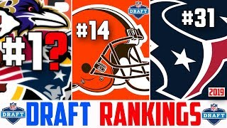 NFL Rankings 2019 NFL Draft Classes (NFL Draft Class Rankings) Rankings All 32 NFL Teams Drafts